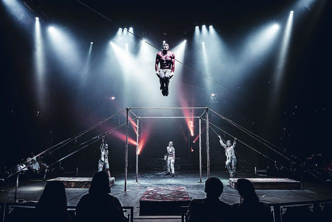High-flying acts are main staple of the first half of the Paranormal Cirque show.