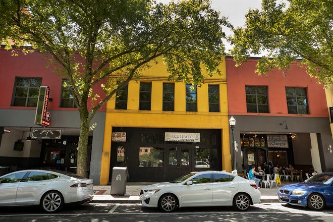 A trio of business partners have purchased 207 East Main Street opposite Munn Park in Lakeland, Florida for a sales price of $335,00.  Ernest Peters/The Ledger 2020