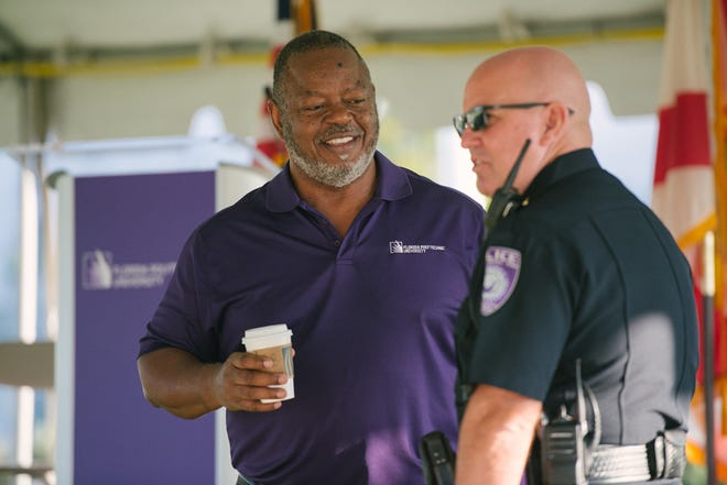 Rick Maxey, at left,  will assume the title of assistant vice president for the new Office of Diversity and Inclusion created at Florida Polytechnic University. Photo Provided