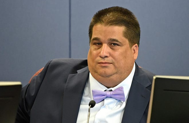 Sarasota's Eric Robinson, a former county Republican chair and business partner of the state's GOP Chair, state Sen. Joe Gruters, was among the GOP-influenced school board candidates that lost across the state in the Aug. 18 elections. FILE PHOTO/SARASOTA HERALD-TRIBUNE 2017