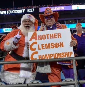 The Clemson Tigers were picked to finsh first and win the ACC Championship game by the media.