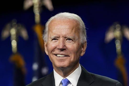 Former Democratic presidential candidate Joe Biden traveled to Harrisburg to speak to AFL-CIO members on Labor Day.