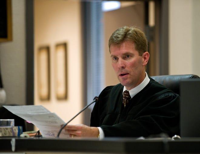 San Joaquin County Superior Court Judge Brett H. Morgan in court in 2011.