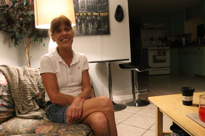 Bradenton housekeeper Mary Strader was helped by the Season of Sharing program.