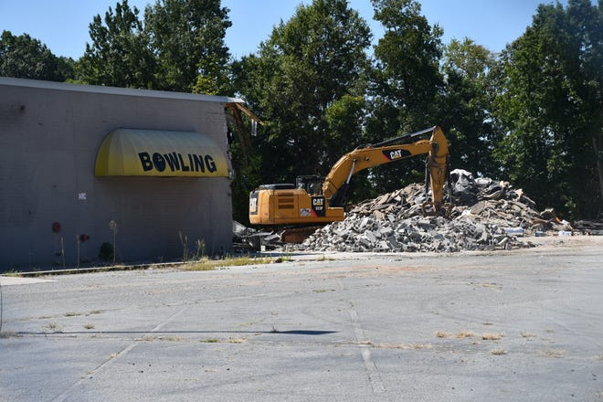 Country Club Lanes West is being torn down to be replaced with a Lidl grocery store.
