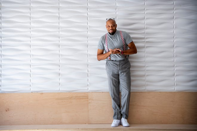 J. Hackett owns Grind Coffee Co. in Asheville, North Carolina and helps mentor other Black entrepreneurs.