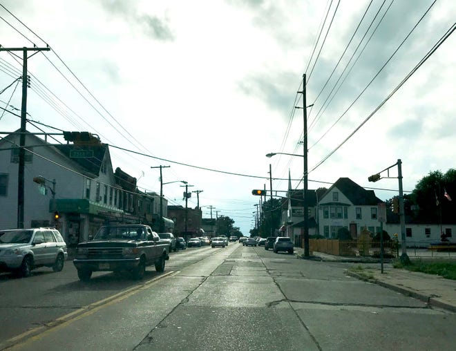 The intersection of 35th and Federal streets in Camden is one of 17 intersections in East and South Camden that will undergo improvements.