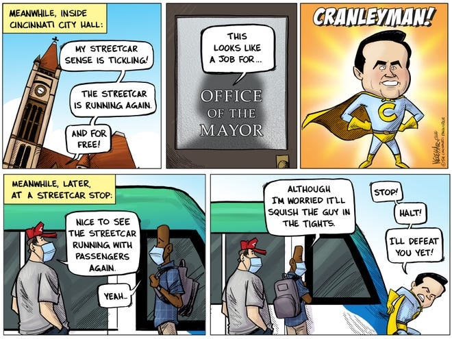 If Cincinnati Mayor John Cranley had a superpower, it would be fighting the streetcar.