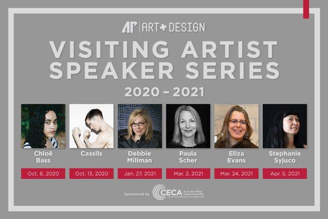 Visiting artist speakers at APSU