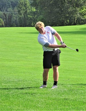 Fairfield Union senior Josh Tipton was named the Mid-State League-Buckeye Division Golfer of the Year.