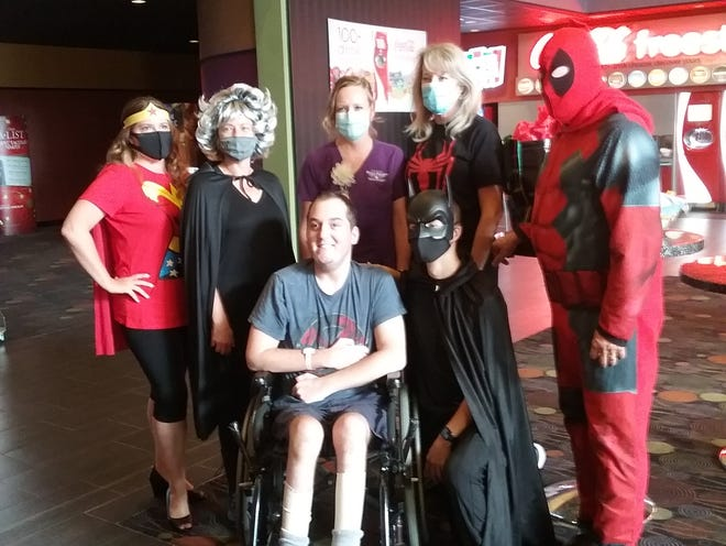 "Danny Kochan, whose dying wish was to see one last comic book movie, saw Marvel's ""New Mutants"" Monday in Manitowoc."