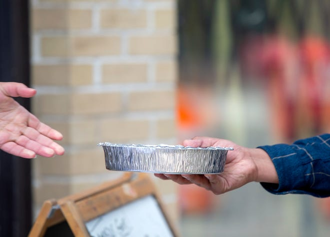 The Milwaukee relief group Hungry Hearts has been giving away 300 meals to people in need every Saturday since May 23. It is fundraising to be able to continue through next May.