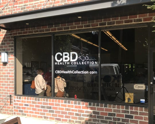 CBD Health Collection opened on Thursday in downtown Granville, at 136 North Prospect St. Former Buckeye Chris Spielman is one of the company partners.