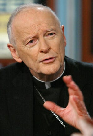 Former Cardinal Theodore McCarrick