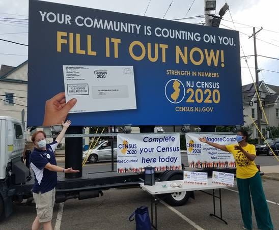 On Sept. 22, the Passaic County Complete Count Committee traveled the county with U.S. Census Bureau enumerators, stopping in four key population centers to help residents fill out their census form on the spot.