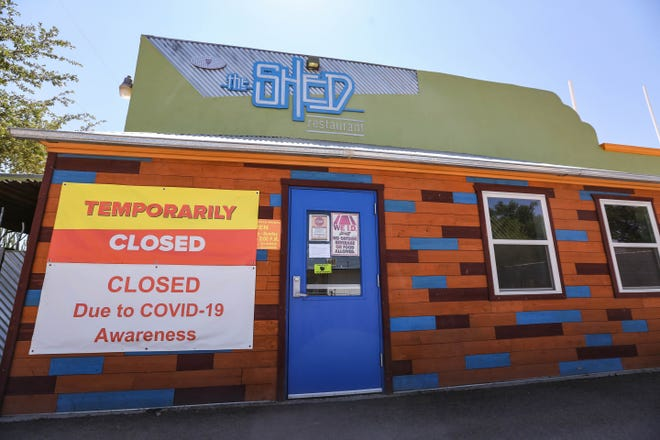 The Shed Restaurant, pictured on Friday, Sept. 4, 2020, has been closed since March. It's planning to reopen Sept. 10.
