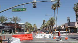 Palm Canyon Dr. to reopen to cars after suit, complaints