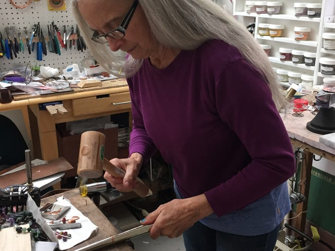 Shirley Walle, an artist from Turner, has opened an online storefront through Goimagine.