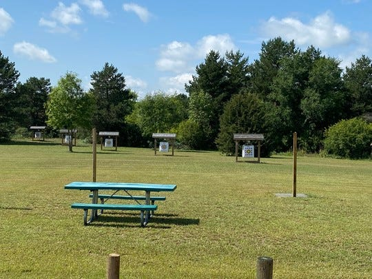 An archery range opened at Oak Township Park in Melrose after Eagle Scout Ethan Kierzrk came up with the idea and presented it to the Stearns County Parks Department.