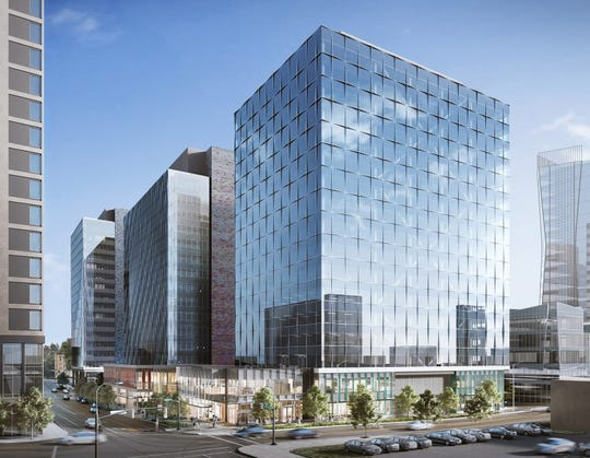 Amazon's latest venture: a development at 555 Tower and West Main in Bellevue, Washington to house more employees.
