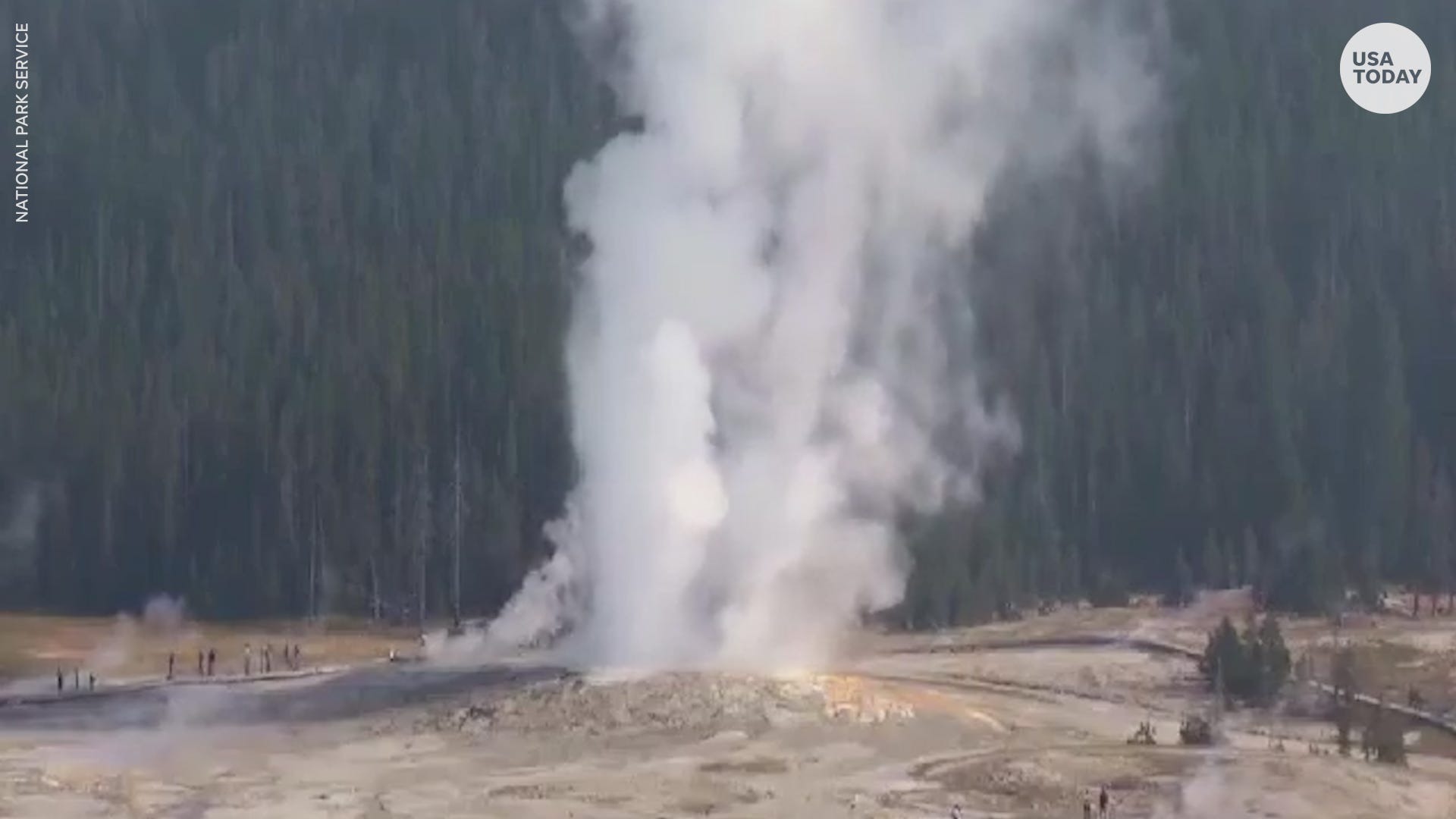 Yellowstone National Park geyser erupts for the first time after 6 years of dormancy