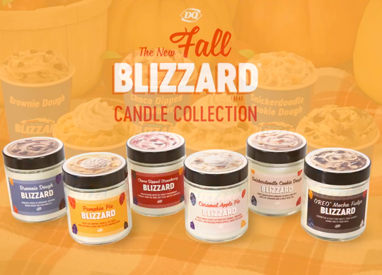 """Dairy Queen's latest candle collection """"blew out quickly,"""" the company says."""