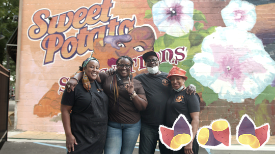 How does a sweet potato café survive in the pandemic? This Black-owned small business in Detroit is battling odds.