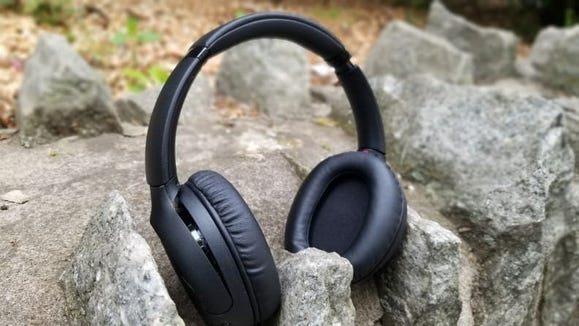 Our home theater editor praised the long battery life, sound quality and range of features of these headphones.