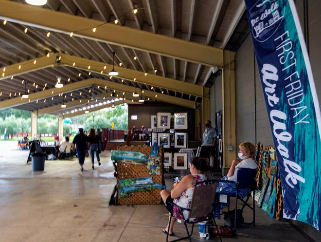 The First Friday Art Walk will be held Dec. 4 in downtown Ocala.