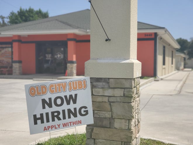 Old City Subs is just one of several employers looking to hire workers in St. Johns County.
