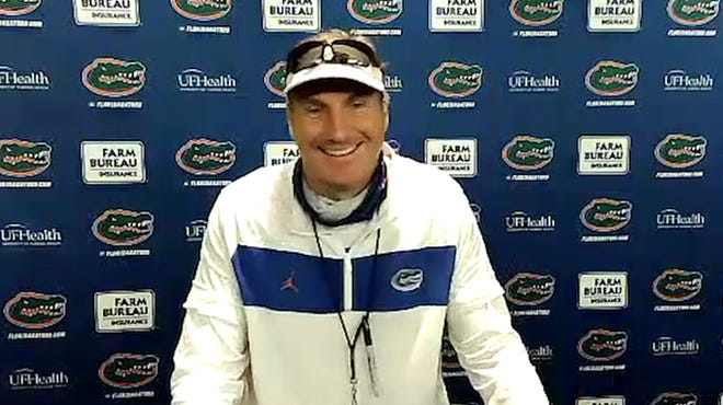 UF coach Dan Mullen