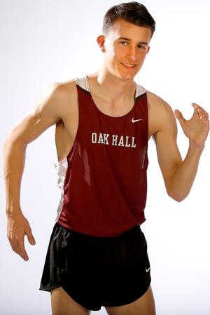 Oak Hall cross country runner Austin Montini.