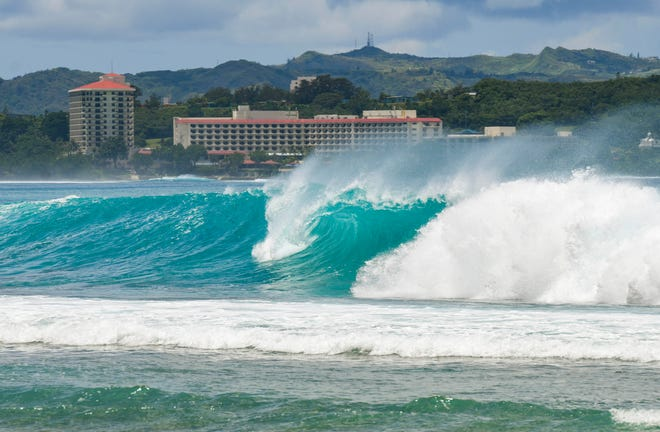 Climate Service says excessive rip-current danger for the Marianas