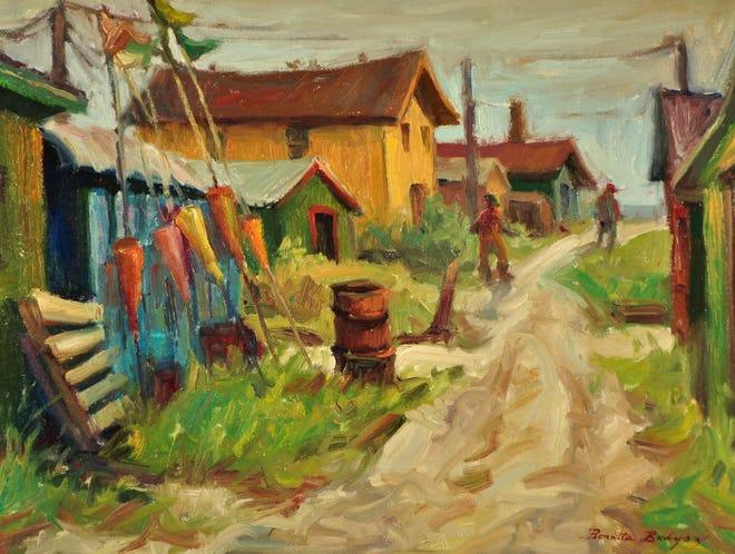 Algoma Shanty Town by Bonnita Budysz