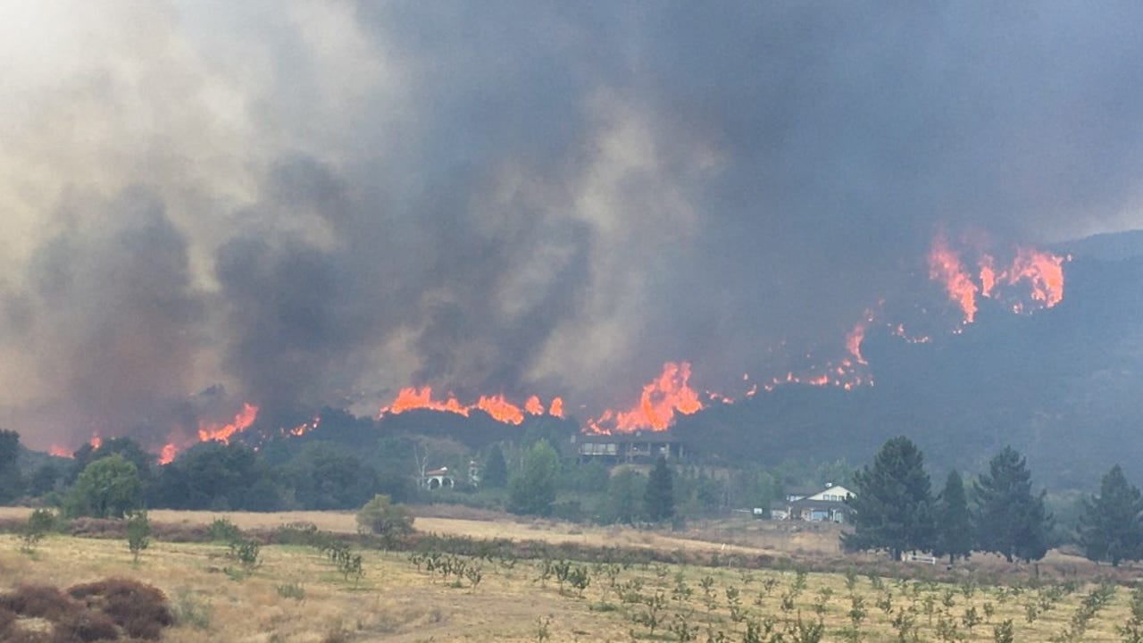 California Wildfires Some National Forests Closed New Rules At Others