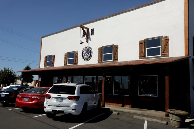 Route 99, Annette Day's new restaurant, is pictured in Brooks, Oregon on Wednesday, Sept. 2, 2020.