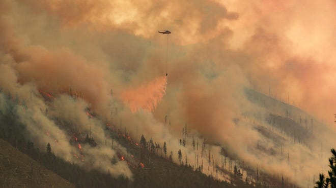 The Lionshead Fire grew on Friday, bringing major closures to the Mount Jefferson Wilderness.