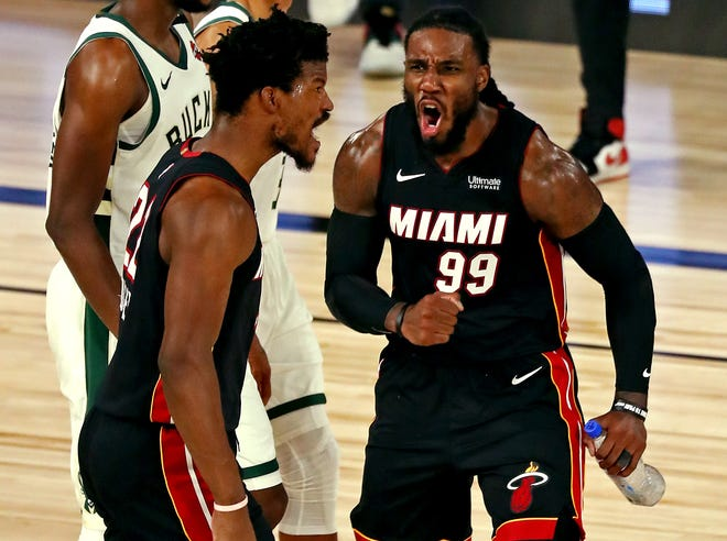 Heat Shock Bucks Again To Take Commanding 3 0 Series Lead