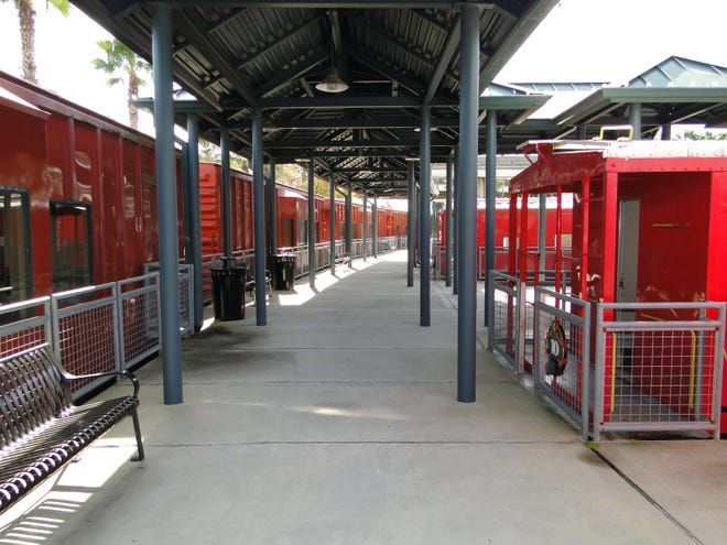 A couple of dozen railway cars make up Adams Street Station, also known as River City Railway, just east of TIAA Bank Field, and now are being offered to rent for a unique tailgating experience at sporting or cultural events.