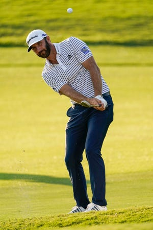 Dustin Johnson is the favorite to earn PGA Tour player of the year in balloting by the Tour membership.