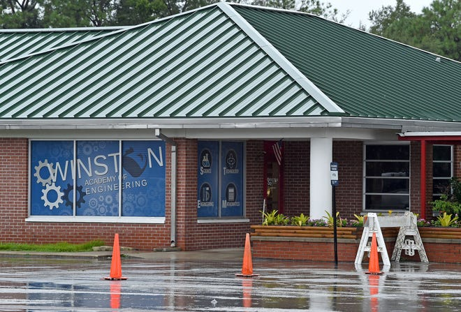 Winston Academy of Engineering is among 34 schools with confirmed COVID-19 cases, according to Polk County Public Schools officials. FILE PHOTO/THE LEDGER 2018