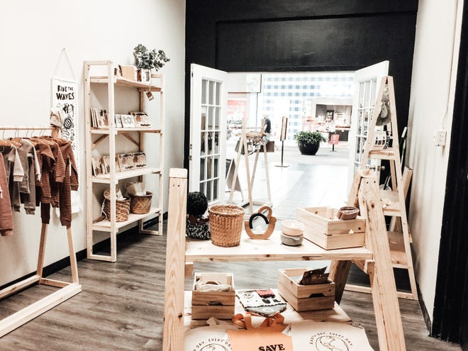 Pictured is the inside of Misfit Moon in the Gadsden Mall.
