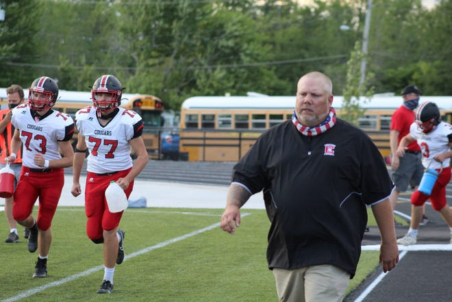 Steve Haverdill led Crestview to its first Firelands Conference football title and first playoff win since 2011 this season. He has also won three FC titles as wrestling coach at the school.