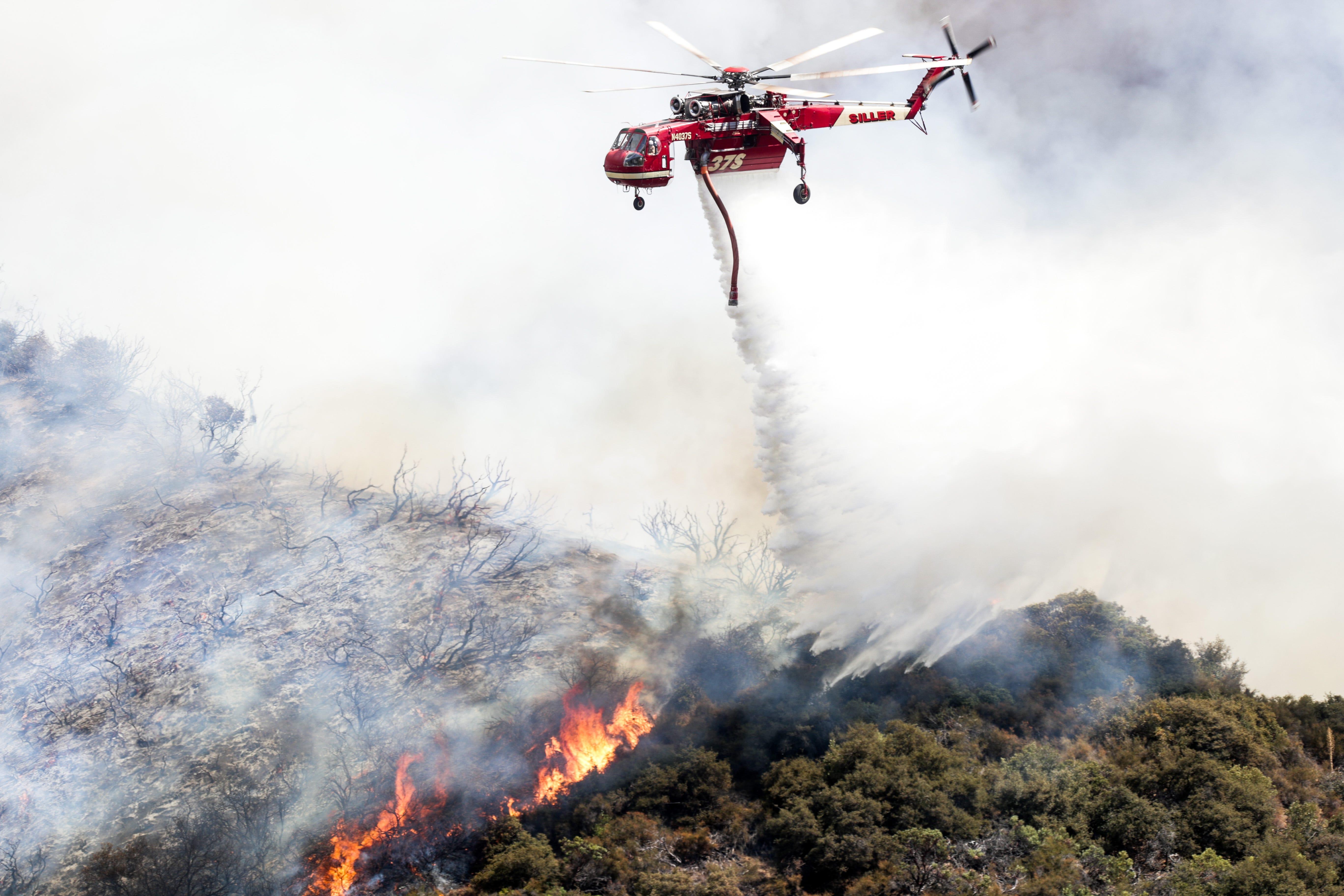 Fire officials: El Dorado blaze sparked during gender reveal party