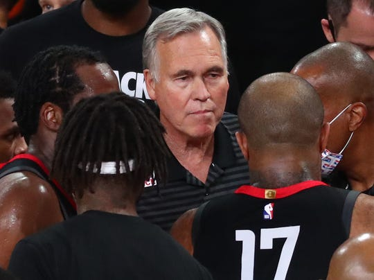 Mike D'Antoni is completing his fourth season with the Rockets.