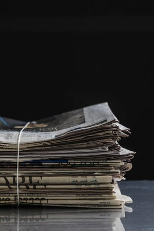 Newspaper bundle