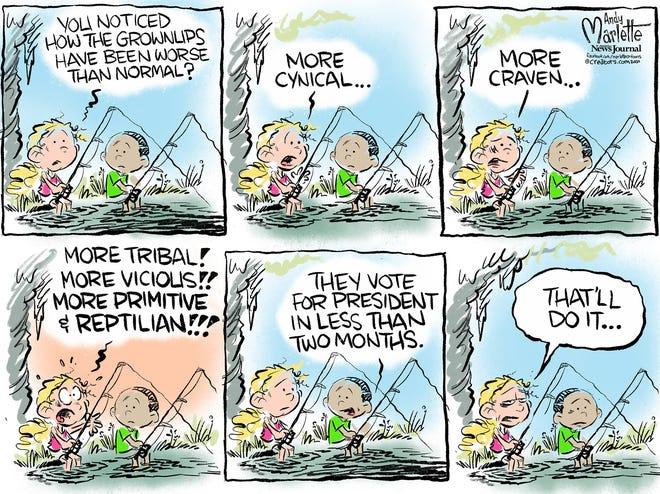 Editorial cartoon: Andy Marlette