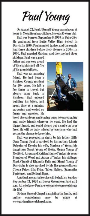 Obituary: Paul Young