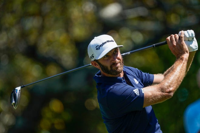 Dustin Johnson, who won the FedEx Cup and two other tournaments since the PGA Tour returned to golf in June, was voted the Tour's player of the year by the membership.