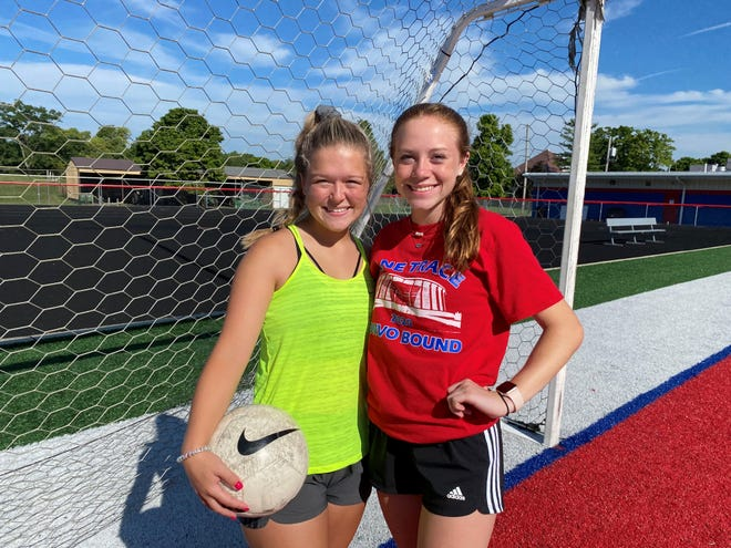 Zane Trace sisters, Alexis and Abby Guffey will get to play together one last time this season